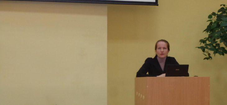 Лекція на тему «Становлення та розвиток політики Європейського Союзу у сфері охорони навколишнього середовища»