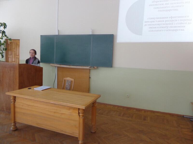 Досліджуємо разом зі студентами основні напрямками політики Європейського Союзу щодо біорізноманіття