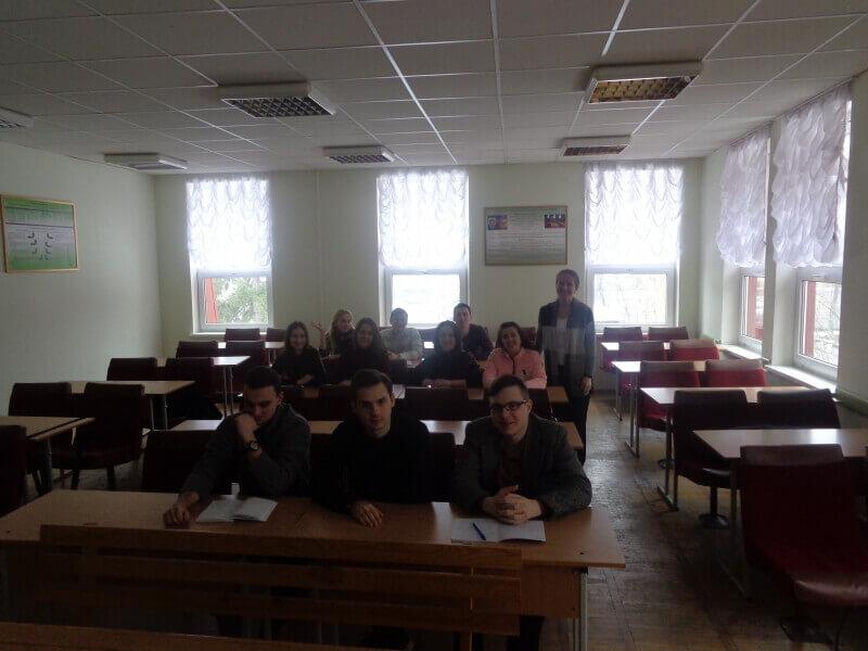 """Практична робота зі студентами, щодо вивченя дисципліни """"Екологічна політика і право ЄС"""""""