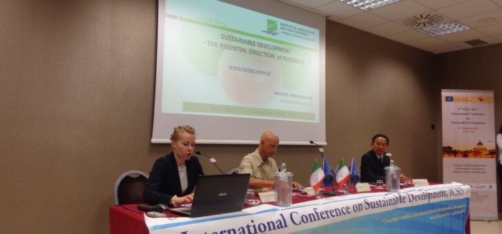 Участь у 5 міжнародній конференції з проблем сталого розвитку 2017